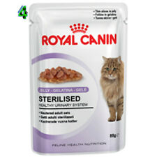 ROYAL CANIN 12 bustine STERILISED in Jelly 85 gr gelatina alimento UMIDO GATTO