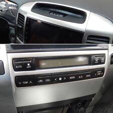 front dashboard air AC control panel decorative cover trim for Toyota Prado J120