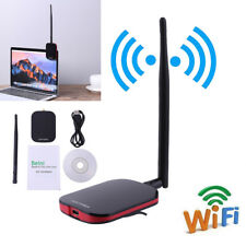 150Mbps Wifi USB Wireless Adapter Network High Power Long Range With Antenna