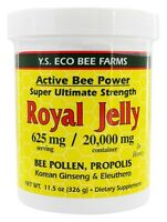 YS Organic Bee Farms Alive Bee Power Royal Jelly Paste 20000 mg 11.5 oz