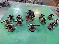 Games Workshop Warhammer 40k painted Space Marine Dreadnaught & Terminators
