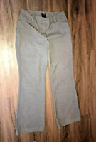 Ann Taylor Curvy Gray Size 8 Flare Career Dress Pants Womens 31L