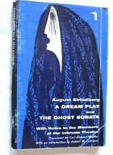 AUGUST STRINDBERG DREAM PLAY * GHOST SONATA * PLAYS THEATER 1966 EDITION