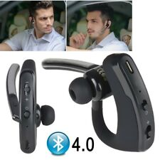 Wireless Bluetooth 4.0 Handsfree Car Headset Stereo Headphone in Ear Earpiece UK
