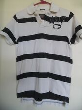 Vintage Abercrombie & Fitch Muscle a Rayas Polo TALLA L