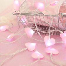 LED Romantic Fairy Wedding Valentines String Lights Flashing Home Decoration