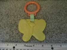 Fisher Price Baby Hanging Car Seat Crib Plastic Teething Toy Infant Butterfly
