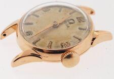 Omega 18k Rose gold vintage watch, 20mm case, movement #224
