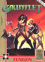Gauntlet (Nintendo Entertainment System 1987) Game Only
