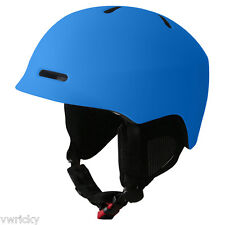 Manbi The Commander Ski Crash Helmet Black-White-Blue-Green Size Medium 54-56cms