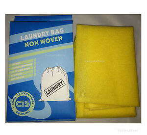 NON WOVEN LAUNDRY BAG STORAGE BAGS STRONG LARGE LAUNDRY BAG SIZE 60 x 90cm
