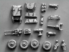 15mm Sci-Fi Miniatures-Car Wars-White Metal-Human Vehicle & Bikes Parts