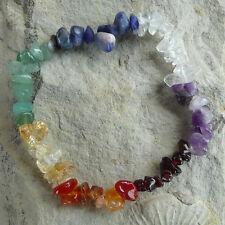 Chakra Armband - Splitterarmband aus Steinen für die 7 Chakren