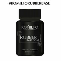 NEW ECONOMY SIZE! Komilfo Rubber Base Coat 50ML Gel Nail Polish LED/UV