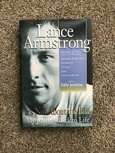 Lance Armstrong It's Not about the Bike My Journey Back to Life AUTOGRAPHED