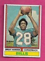 1974 TOPPS # 399 BILLS DWIGHT HARRISON  NRMT-MT ROOKIE  CARD (INV# C4706)