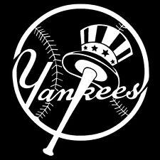 New York Yankees Circle Logo Vinyl Sticker Decal Window Wall Art Car Truck V10