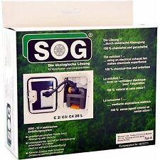SOG Kit Type B For Thetford Cassette Toilet C200 White Housing Through Door