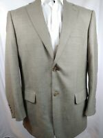 Vtg Pendleton Heritage Wool LAMBSWOOL Sport Coat Plaid Blazer Mens Size 44R