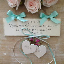 "Personalised Wedding Gift "" Thank You Gift From The Bride And Groom"