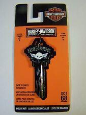 Harley Davidson  Wings Schlage House key blank
