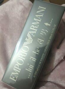 Emporio Armani He/Lui 100ml Eau de Toilette Spray For Him,Brand New, RRP £61.50