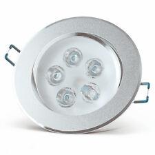 """LED Einbauleuchte 5W Warmweiß Gehäuse """"Aluminium""""  mit Trafo"""