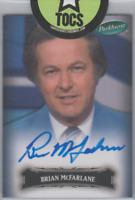 Brian McFarlane 2006 UD Parkhurst Hard Signed Autograph Card #72 SP