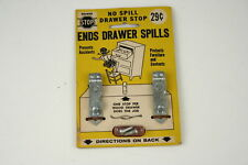 Vintage from 1964 - No Spill Drawer Stop 222-Z by Shelby Metal Products - New