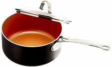 Gotham Steel Ceramic and Titanium Nonstick 3-Quart Pot with Lid - BRAND NEW -