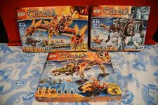 LEGO Chima Huge Collection Lot 70146 70145 70227 BRAND NEW SEALED FREE SHIPPING