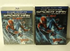 The Amazing Spider-Man 3D (Blu-ray/DVD, Canadian 3D) with LENTICULAR SLIPCOVER