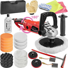 Car Polisher Sander Polishing Machine 1600 Watt + XXL Sponge Kit + Nano Polish