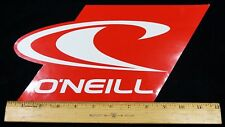 O'NEILL XL SURF STICKER O'Neill Watersports 12 in x 6.25 in Large Red Surf Decal