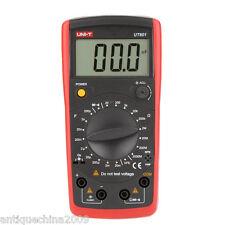 LCD Resistance Capacitance Meter Capacitor Resistor Diode hFE Tester UNI-T UT601