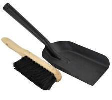 Samba Heater Fire Tool Shovel & Hearth Brush Set Broad Bristles