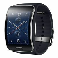 Samsung Galaxy Gear S SM-R750 Curved Super AMOLED Smart Watch - Black