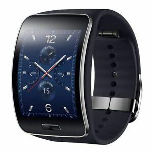 Samsung Galaxy Gear S SM-R750 Curved Super AMOLED Smart Watch - Black