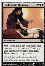 MAGIC MTG - TRADIMENTO OMICIDA -  RARA - ORO - ITALIANO - BORDO BIANCO
