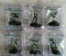 Full set war of light heroclix 6 figure prizes Kyle Rayner Guy Gardner Jade