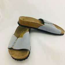Birkenstock Papillio Women's Blue Sandals Size 6 Slip Ons