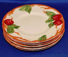 Ficve Vintage Franciscan Apple Pattern Bread Dessert or Fruit plate
