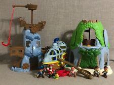 Lot of Disney Jake & the Neverland Pirates Playset