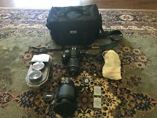 Nikon D3200 with Bag and Extras