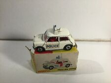 Dinky Toys 250 Police Mini Cooper Within Its Original Box