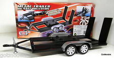 MOTORMAX 1/18 SCALE -76009 CAR TRAILER DIORAMA RALLY ETC FOR DIECAST MODEL CARS
