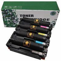 4 Pack CF410X High Yield Toner For HP LaserJet Pro M452dw M477 M477fdw M477fnw