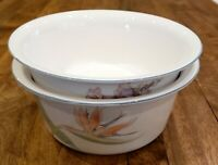 """Noritake China New Decade PACIFIC WINDS - (2) 8-1/4"""" Vegetable Serving Bowls Set"""