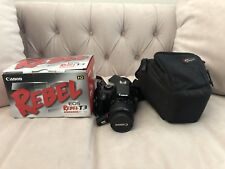 Canon Eos Rebel T3 W/EFS 18-55mm With Lens&case