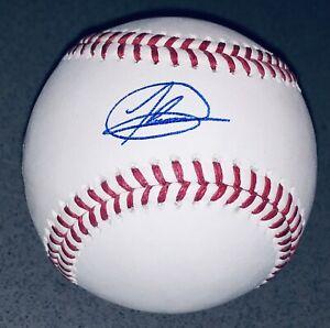 Jasson Dominguez Autographed Yankees Signed Ratings MLB Baseball Auto FANATICS